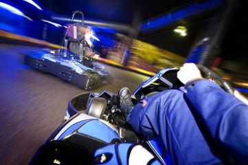 Go-cart in pursuit