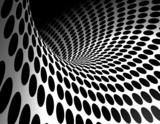 fondo abstracto con onda y circulos - 27209251