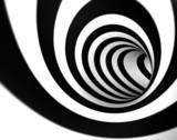 Czarno-biała spirala - 27209853