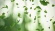 Falling gingko leaves - looped animation