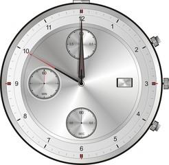 10 Sekunden vor 12 Uhr 0 Uhr 24 Uhr Geisterstunde
