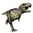 tyrannosaurus green running