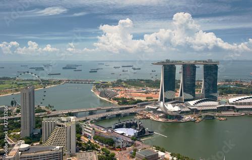 Fotobehang Singapore Panorama of Singapore