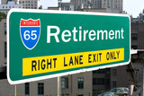 Retirement Highway Sign