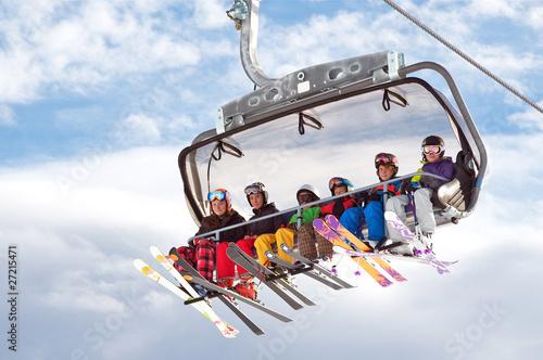 Fototapete Wintersport - Ski - Skifahren - Eishockey - Skispringen - Snowboard - Wandtattoos - Fotoposter - Aufkleber