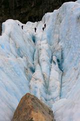 Tourist Glacier Crevasse Climbing