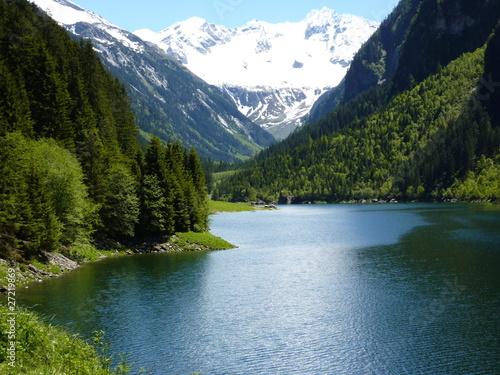 Leinwandbilder,see,bergsee,berg,teich