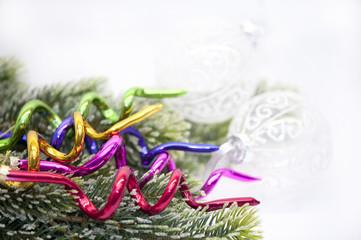 Weihnachten Dekoration Tannenbaum Schmuck Rot Bunt