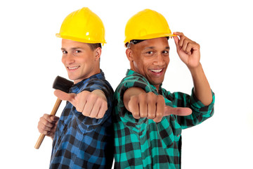 Sexy construction workers