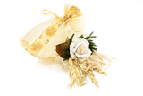 Wedding Favor Decorated With Rose poster