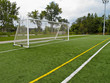 Soccer Net and Goalposts