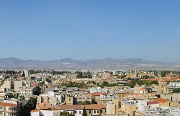 Northern Nicosia panorama