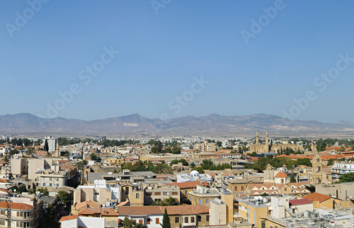 Northern Nicosia panorama