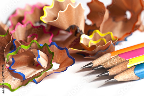 Crayons bien taillés