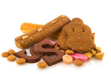 Traditional Dutch delicacy for Sinterklaas holidays