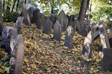 Old jewish cemetery, Prague.