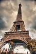 Bottom-Up view of Eiffel Tower, Paris