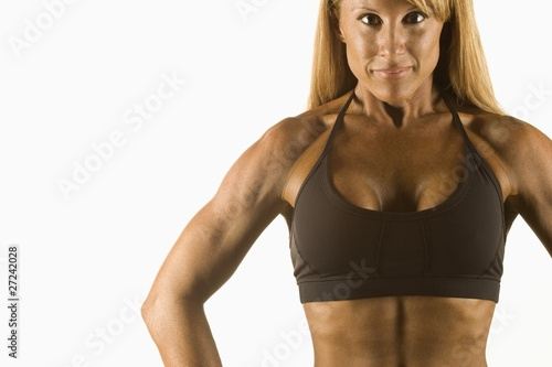 Woman In Good Shape
