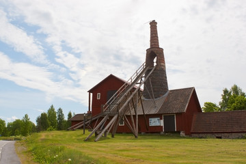 Old 16th century smeltery in Sweden