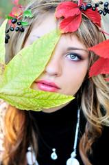 autumn face
