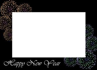 cornice auguri di buon anno nuovo
