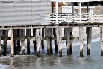 Dock at Low Tide