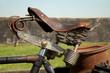 Alter Fahrradsattel