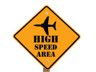 high speed sign