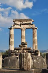 The Tholos at the sanctuary of Athena Pronaia