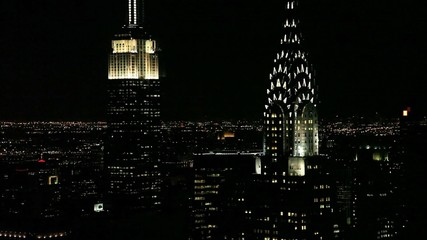 Empire State and Chrysler Building