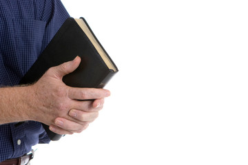 Missionary With Bible