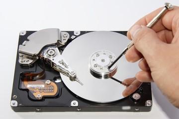 Compuder hard disc