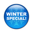 Boton brillante texto WINTER SPECIAL!