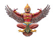 old Garuda statue
