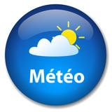 Bouton Web METEO (prévisions météo météorologiques informations) poster