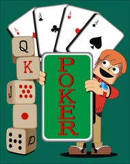 Hombre_cartas de poker 2