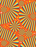 Zany Zigzags  (motion illusion) poster