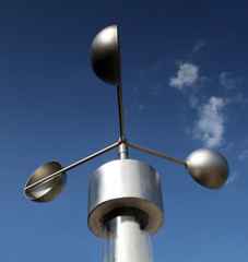 Anemometer, meteorological weather-station