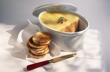 Terrine de foie gras de canard cru