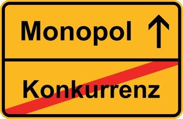 Monopol - Konkurrenz