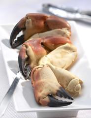 pinces de crabes