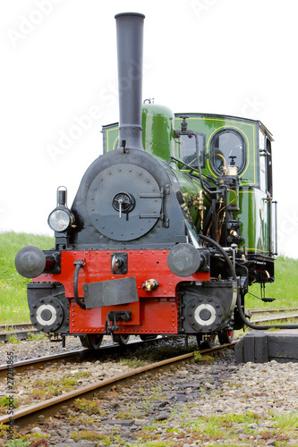 steam locomotive, Hoorn - Medemblik, Noord Holland, Netherlands