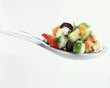 Cuillérée de légumes