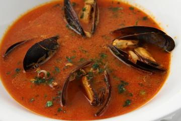 zuppa di mitili