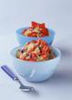 Quinoa aux fraises et kiwis