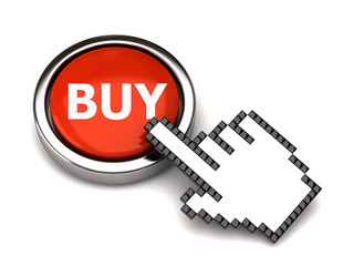 BUY button and hand cursor