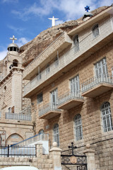 The Historical Orphanage in Maalula, Syria.