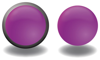 bottone viola