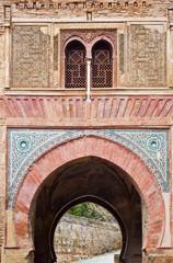 La puerta del vino, Alhambra Granada, Spanien