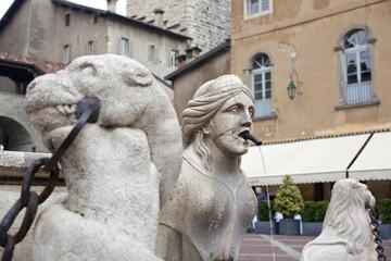 Sfinge, Fontana Contarini - Bergamo Alta